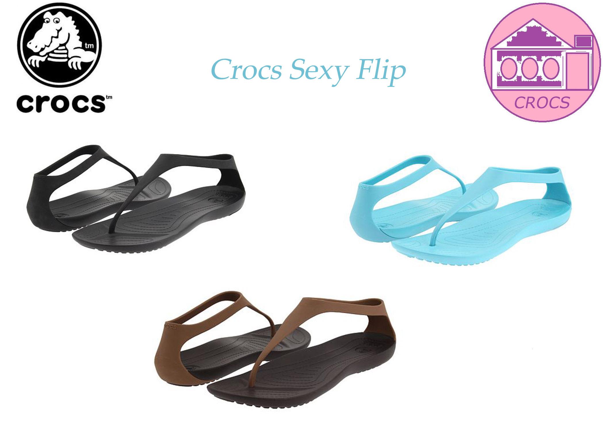 crocs flip